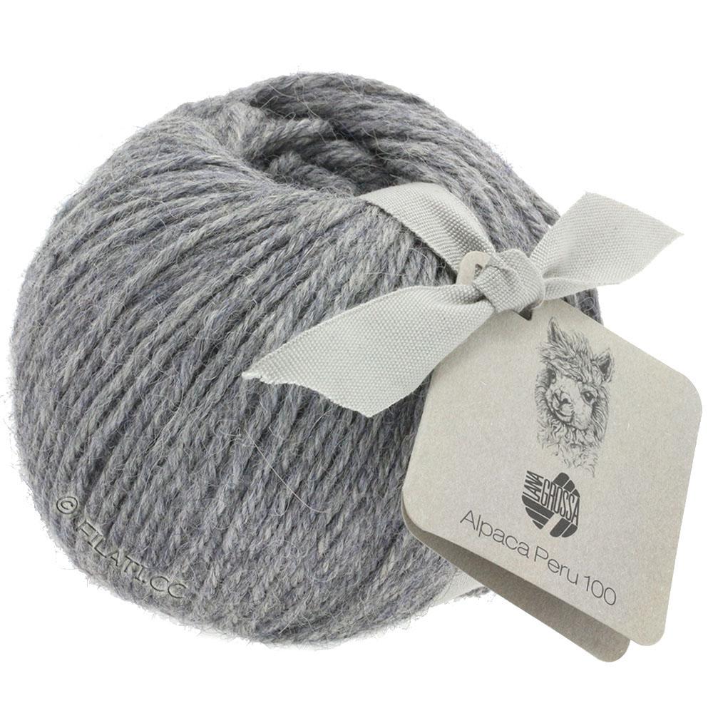 Lana Grossa-Alpaca Peru 100-118-светло-серый